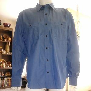 Men's Blue shirt. Vince brand.